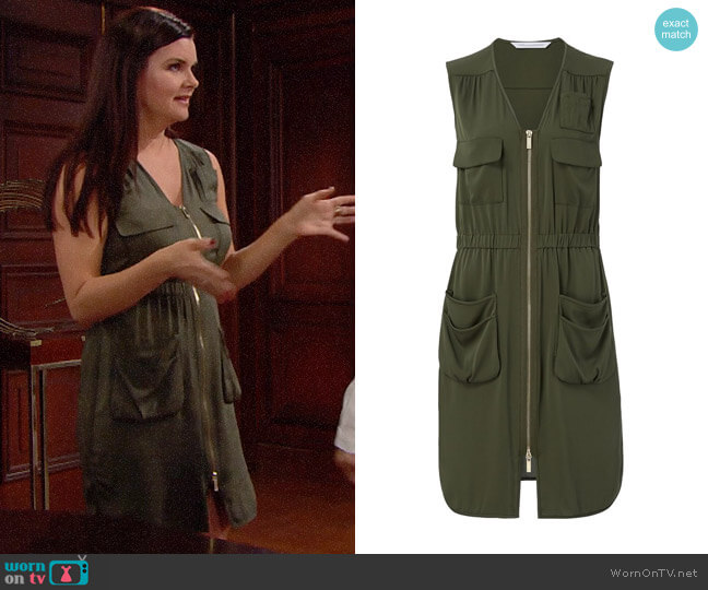 Diane von Furstenberg Adara Dress worn by Katie Logan (Heather Tom) on The Bold & the Beautiful