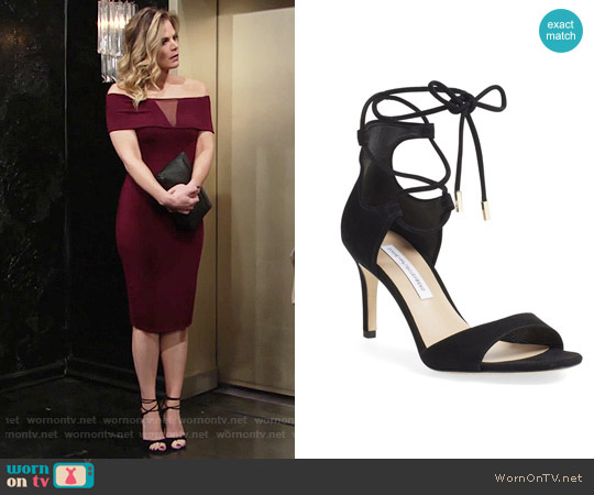 Diane von Furstenberg Rimini Sandal worn by Phyllis Newman on The Young & the Restless