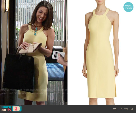 Elizabeth + James Imogen Dress worn by Laur Allen on The Young & the Restless