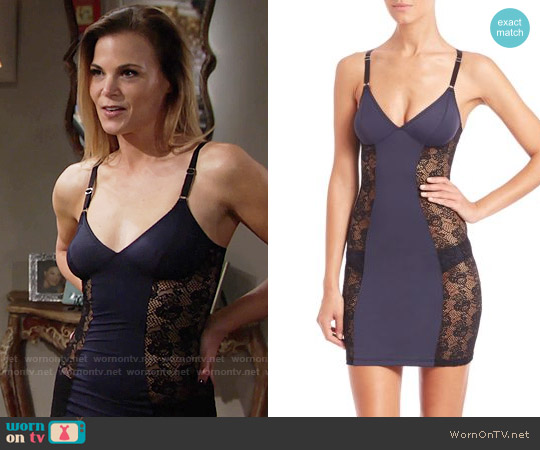 Fortnight Mira Slip worn by Gina Tognoni on The Young & the Restless