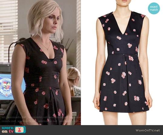 French Connection Samba Daisy Dress worn by Rose McIver on iZombie