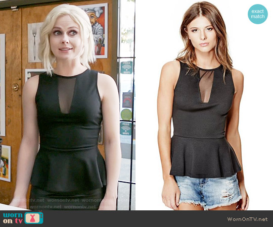 Guess Arlene Tank worn by Liv Moore (Rose McIver) on iZombie