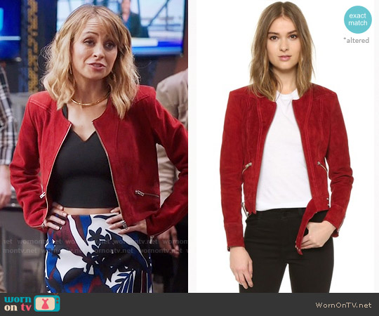 IRO Tatiana Jacket worn by Nicole Richie on Great News