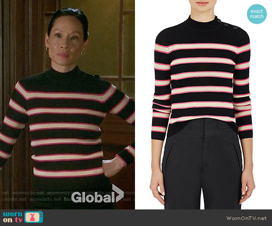 Etoile Isabel Marant Devona Sweater worn by Joan Watson (Lucy Liu) on Elementary