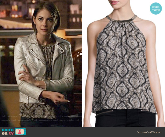 Joie Francis Top worn by Willa Holland on Arrow