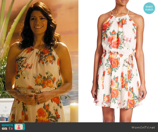 Joie Makana Dress worn by Xiomara Villanueva (Andrea Navedo) on Jane the Virgin