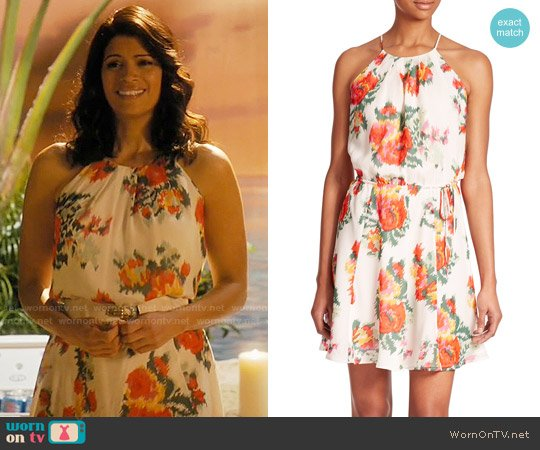 Joie Makana Dress worn by Andrea Navedo on Jane the Virgin