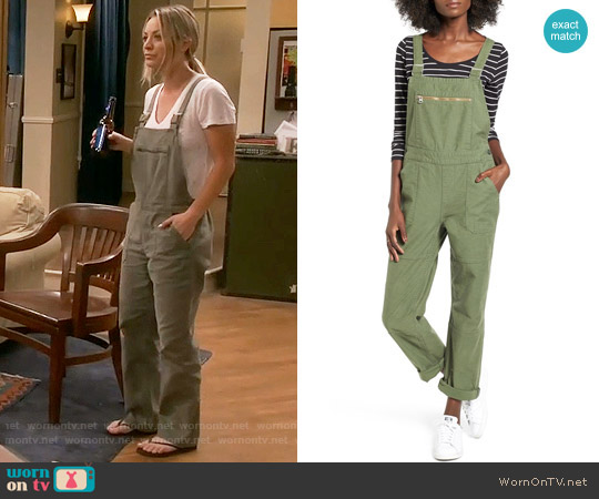 Levis Surplus Overalls worn by Penny Hofstadter (Kaley Cuoco) on The Big Bang Theory