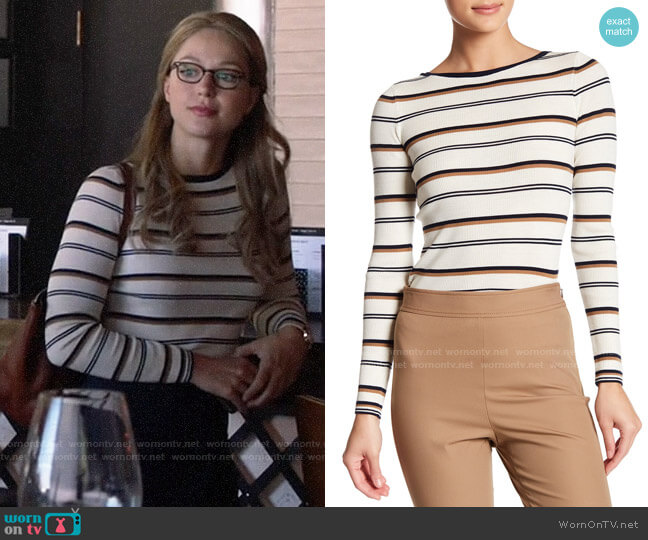 Theory Mirzi Sweater worn by Kara Danvers (Melissa Benoist) on Supergirl
