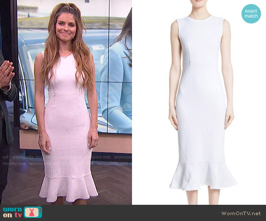Opening Ceremony Lotus Midi Dress worn by Maria Menounos on E! News