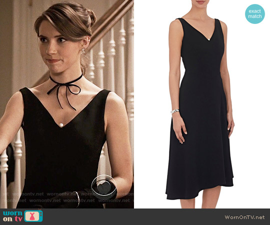 OSMAN Embellished Fit and Flare Dress worn by Stephanie 'Stevie' McCord (Wallis Currie-Wood) on Madam Secretary