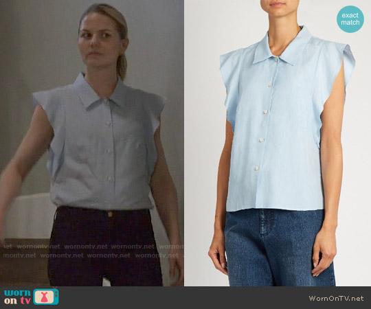 Rachel Comey Laurel Top worn by Emma Swan (Jennifer Morrison) on OUAT