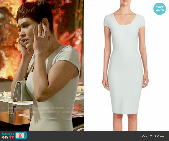 Roland Mouret Whistles Dress worn by Anika Calhoun (Grace Gealey) on Empire