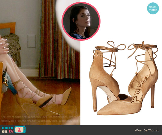 Sam Edelman Helaine Pumps worn by Alexis Gleen on Famous in Love