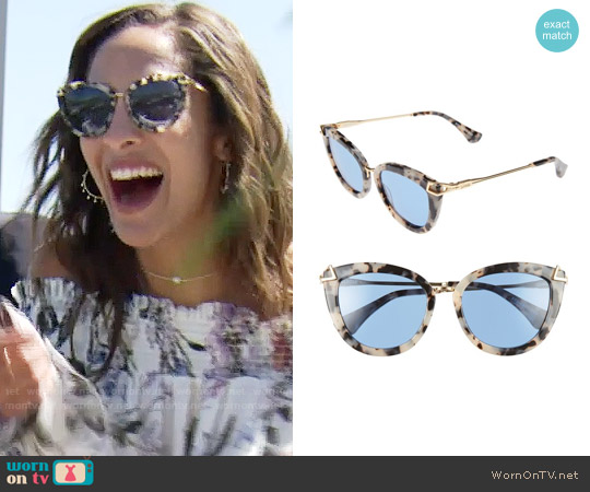 Sonix Melrose Sunglasses worn by Lily Winters on The Young & the Restless