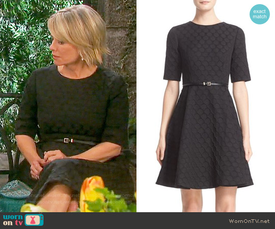 Ted Baker Cealine Dress worn by Kayla Brady (Mary Beth Evans) on Days of our Lives