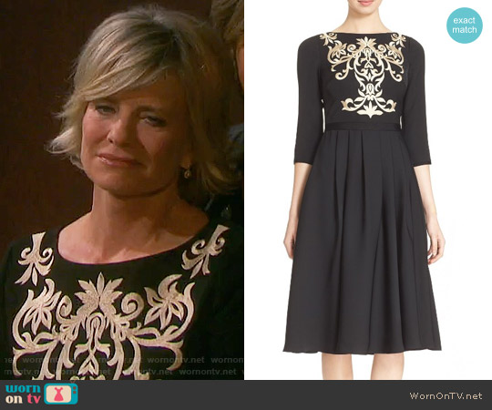 Ted Baker Shamari Dress worn by Kayla Brady (Mary Beth Evans) on Days of our Lives