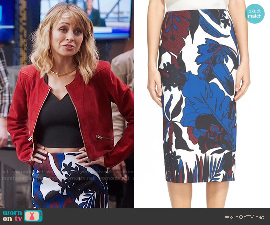 Ted Baker Darle Skirt worn by Portia Scott-Griffith on Great News