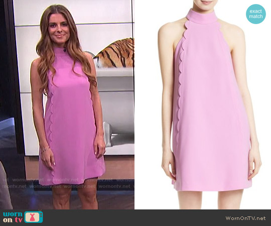 Ted Baker Torrii Dress worn by Maria Menounos on E! News