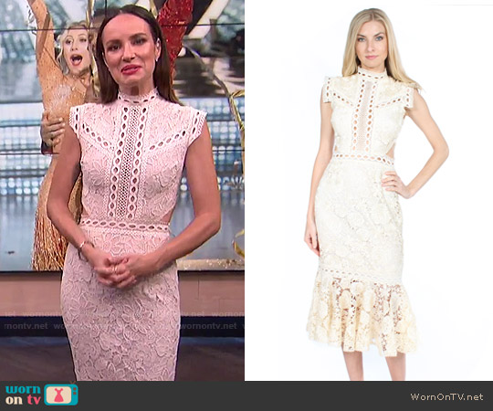 Tenby Camilla Dress worn by Catt Sadler  on E! News