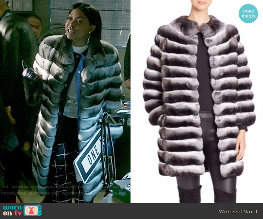 The Fur Salon Chinchilla Fur Jacket worn by Cookie Lyon (Taraji P. Henson) on Empire