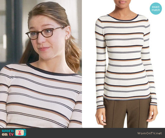 Theory Mirzi Sweater worn by Melissa Benoist on Supergirl