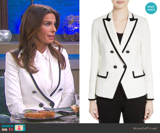 Veronica Beard Harriet Blazer worn by Kristian Alfonso on Days of our Lives