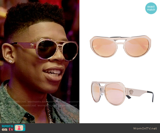 Versace Rock Icons Sunglasses worn by Hakeem Lyon on Empire