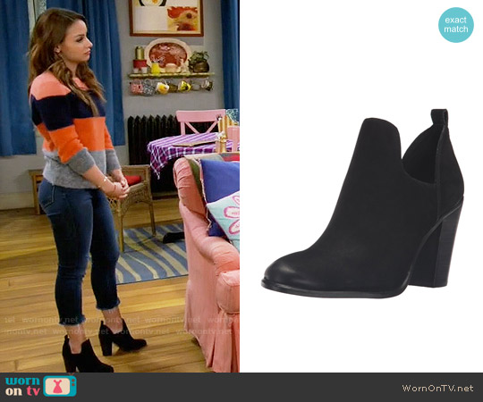 Vince Camuto Federa Booties worn by Sofia Rodriguez on Young & Hungry