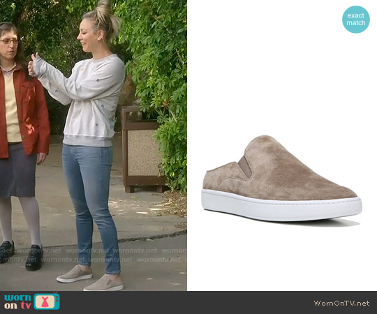 Vince Verrell Slip On Sneaker worn by Penny on The Big Bang Theory