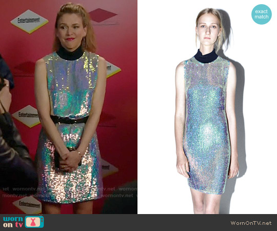 3.1 Phillip Lim  Sleeveless Sequined Dress worn by Sutton Foster on Younger
