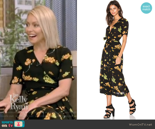'Stephanie' Dress by A.L.C. worn by Kelly Ripa  on Live with Kelly & Ryan