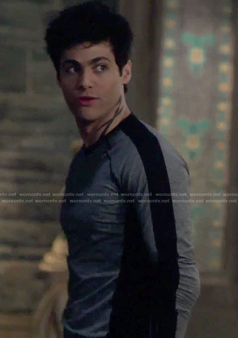 Alec's grey sweatshirt on Shadowhunters