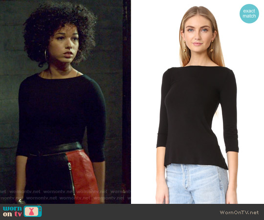 Cuba Libre Top by Bailey44 worn by Alisha Wainwright  on Shadowhunters