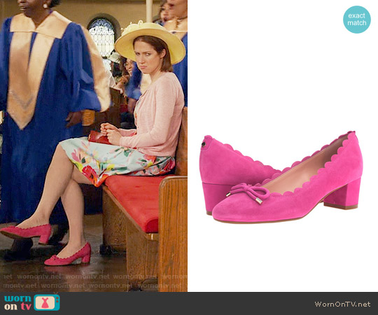 Kate Spade Yasmin Pumps worn by Ellie Kemper on Unbreakable Kimmy Schmidt