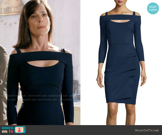 La Petite Robe di Chiara Boni Nellie Dress worn by Nina Devon (Perrey Reeves) on Famous in Love