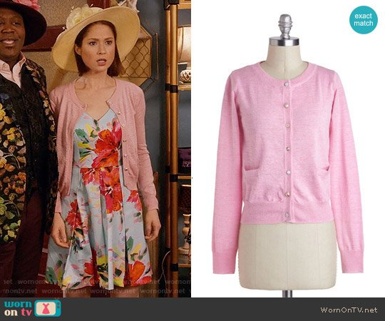 ModCloth Button Jar Cardigan worn by Kimmy Schmidt on Unbreakable Kimmy Schmidt