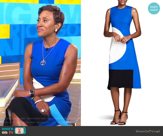 The Everett Circle & Square Dress by Novis worn by Robin Roberts  on Good Morning America
