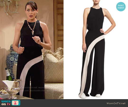 Alexis Deanne Jumpsuit worn by Rena Sofer on The Bold & the Beautiful