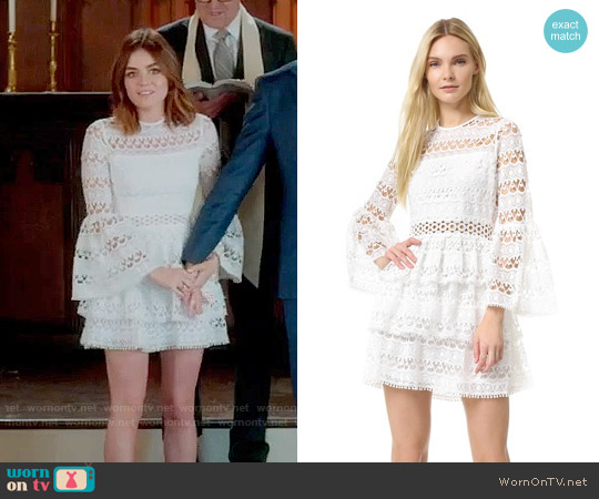 Alexis Gem Dress worn by Lucy Hale on PLL
