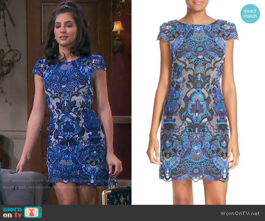 Alice + Olivia Nakia Dress worn by Gabi Hernandez (Camila Banus) on Days of our Lives