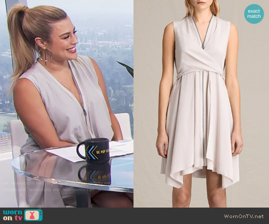 All Saints Jayda Dress worn by Carissa Loethen Culiner on E! News
