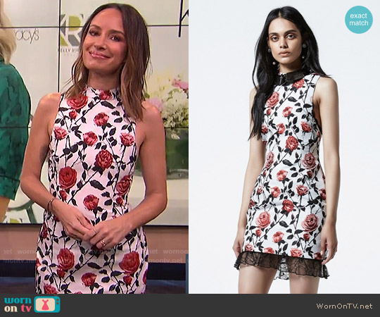 Asilio True Match Dress worn by Catt Sadler on E! News