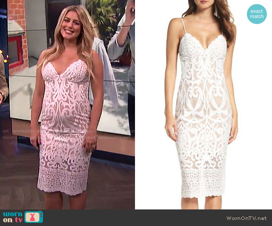 Bardot Gia Dress worn by Carissa Loethen Culiner on E! News