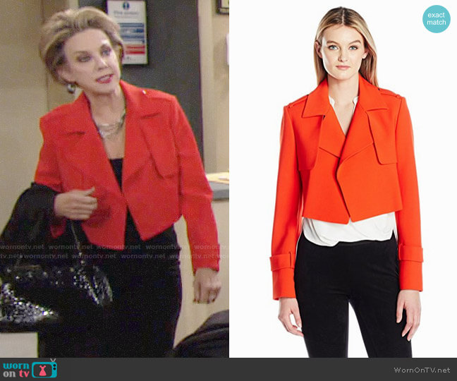 Bcbgmaxazria Gerald Jacket worn by Judith Chapman on The Young & the Restless