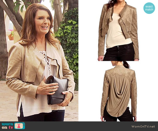 Bcbgmaxazria Norton Jacket worn by Sheila Carter (Kimberlin Brown) on The Bold & the Beautiful