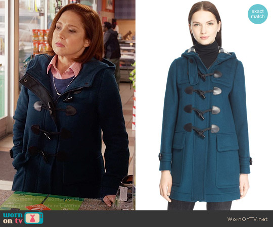 Burberry Finsdale Coat worn by Kimmy Schmidt (Ellie Kemper) on Unbreakable Kimmy Schmidt