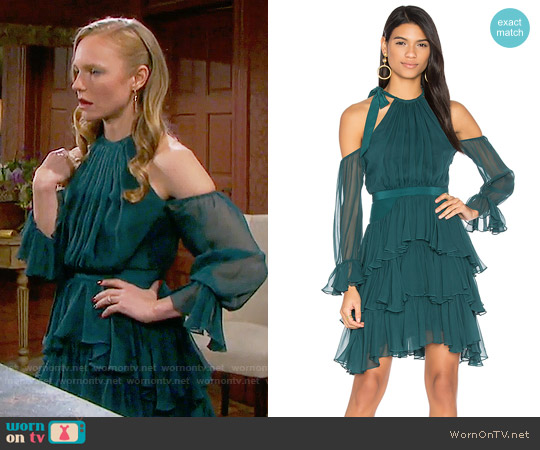Cinq a Sept Elsa Dress worn by Marci Miller on Days of our Lives