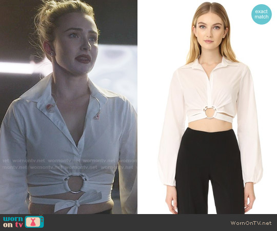 Cinq a Sept Trillian Top worn by Hayden Panettiere on Nashville