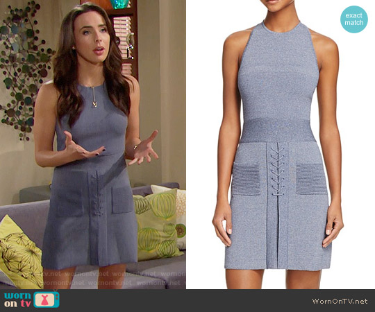 C/MEO Rebound Knit Dress worn by Ivy Forrester (Ashleigh Brewer) on The Bold & the Beautiful